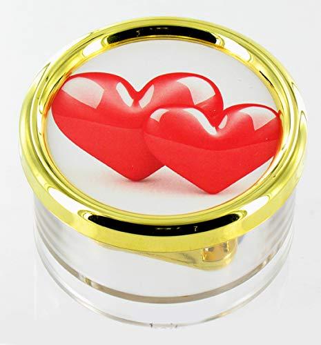 Lutèce Créations Boîte à Musique Presse-papiers de la Saint-Valentin en plexiglas avec Photo (Réf: PL.18.04) - Une Histoire d'amour - Love Story (Francis Lai)