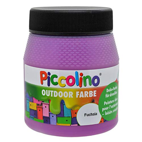 Piccolino - Pintura Decorativa para Exterior (250 ml), Color Fucsia