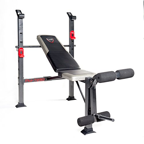 CAP Strength Bench Standard Bench Black/red