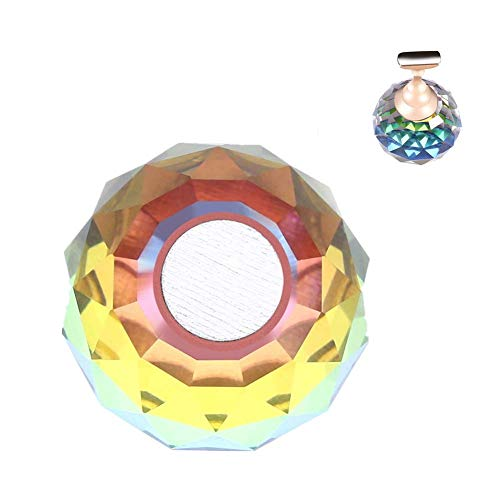 Bouts de support de bouts d'ongle, bout de présentoir d'art d'alliage magnétique d'alliage pour le salon de DIY et la pratique de manucure(#01)