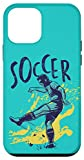 iPhone 12 mini Soccer Kicker Player Kick Ball Athlete Match Tournament Gift Case