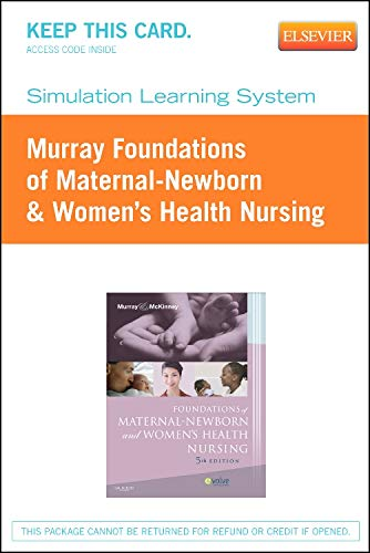 Simulation Learning System for Murray: Foundations of Maternal-Newborn & Women's Health Nursing (User Guide and Access C