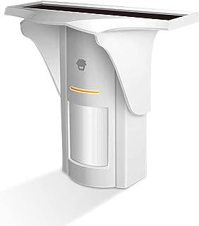 Explopur CHUANGO PIR-926 PIR Motion Sensor 315Mhz Solar-Powered Dual-Tech intelligent Motion Outdoor PIR Burglar Security ...