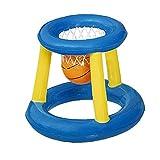 Hainice Basquetbol de agua Marcos de verano Piscina Juguetes inflables con bola 2pcs Style2