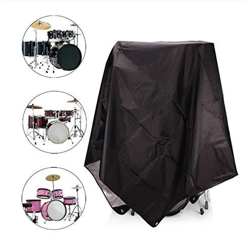 FYZS On-Stage Drum 420D wasserdichte Schutzabdeckungen, Patio Elektrisches Drum Kit Cover, Heavy Duty Drum Set Staubschutz - 40,6 × 108IN (Color : Silver)