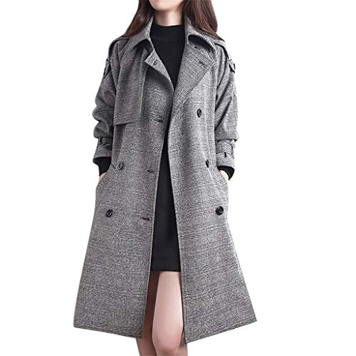 For Sale! WatFY Ladies Winter Cardigan Fashion Slim Coat Women Long-Sleeved Casual Overcoat Medium L...