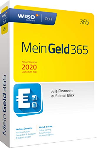 WISO Mein Geld 365 (aktuelle Version 2020) (WISO Software) | Standard | Disc in Standardverpackung