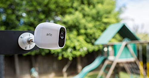 Arlo VMS4120P-100NAS Pro 2 - Wire-Free Home Security Camera with Siren | Rechargeable Battery, Night Vision, 2-Way Audio, Wall Mount | 1 camera kit