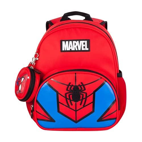 Marvel Capitán América Cartoon Mochila escolar Spider-Man 3 – 6 años de edad, Spiderman., large,