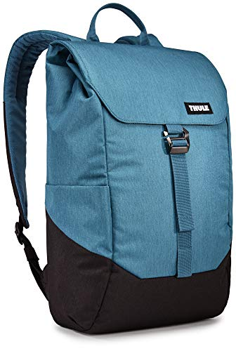 Thule Lithos 16L Polyester Ripstop Backpack for 15' Laptop and 10.1' Tablet Blue/Black