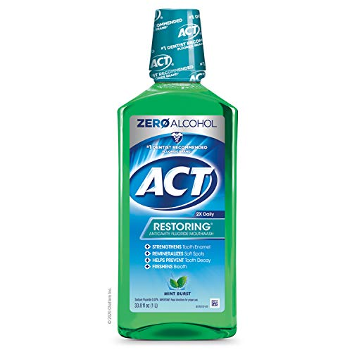ACT Total Care Bain de bouche au fluorure anti...