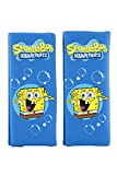 Bob Esponja - 1 set de 2 mini almohadillas para niños, color azul