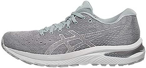 ASICS Women's Gel-Cumulus 22 Running Shoes, 11, Piedmont Grey/White