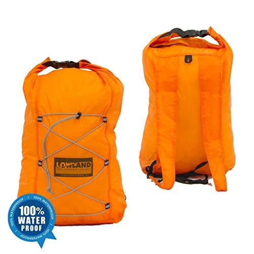 LOWID Outdoor Dry Backpack Sac à dos Orange 25 cm x 15 cm x 35 cm