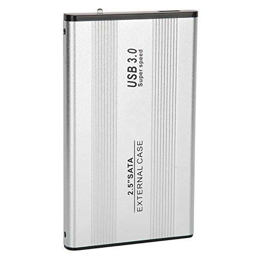 USB 3.0 Disco Duro Móvil - 2,5 Pulgadas Caja Externa HDD SSD con Instalación sin Herramientas para el Sistema Operativo Windows 10 / Windows 8.1 / Windows 7(250G)