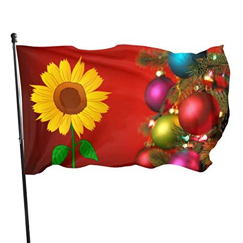 Xinz-00 Flagge Ägyptische Göttin Isis 90 x 152 cm Polyester – lebendige Farben und UV-beständig, Sonnenblume, Einheitsgröße