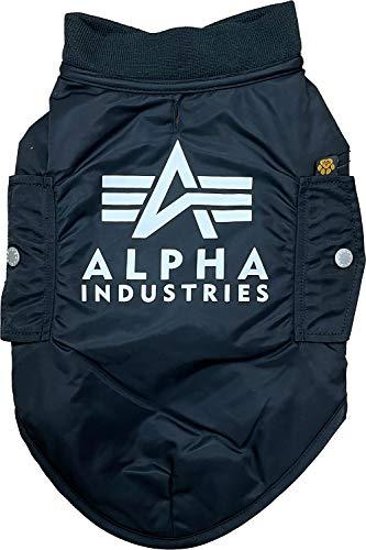 Alpha Industries Hundejacke MA-1 Dog Backprint Black (M)