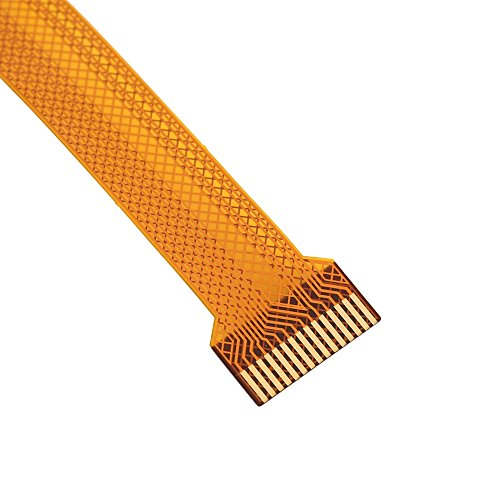 Richer-R Ersatz Flexkabel 30 cm, Kamera Adapter Flexkabel FFC Flexible Flachkabel,Ultradünn Camera Cable Adapter für Raspberry Pi Zero V1.3 Kameras Gelb