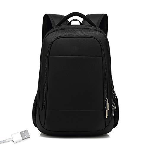 Zaino da Viaggio per Uomo Notebook per Computer Escursionismo Borsa da Esterno 20L ~ 35L USB Cuffia Jack Zaino per Uomo E Donna,Nero