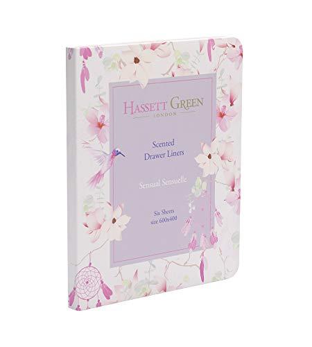 Hassett Green London - Bolsas perfumadas para cajones (6 unidades, 600 x...