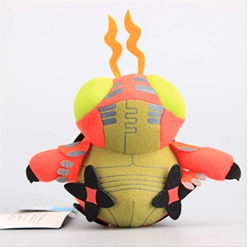 HOOPOO Stuffed toy 12cm Soft Toys Digimon Adventure Tentomon Cartoon Stuffed Dolls