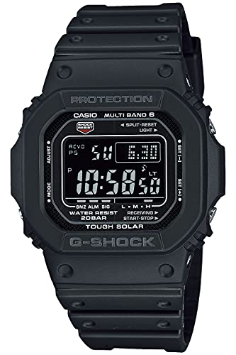 [カシオ] 腕時計 ジーショック 電波ソーラー スーパーイルミネータータイプ(高輝度なLEDライト) GW-M5610U-1BJF メンズ ブラック
