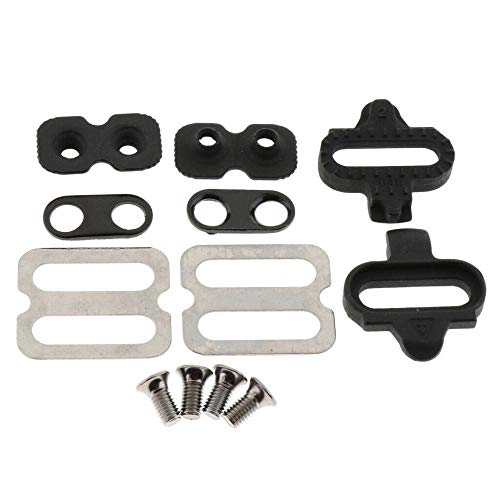 ZoeDul Mountain Bike Bicycle Pedal Cleats Set Outdoor Cycling Part for SPD SH51