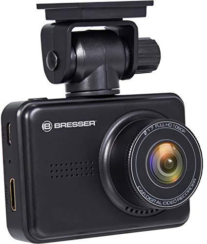 Bresser Full HD Dashboard Kamera Autokamera Dashcam 3MP mit Tag-/Nacht Modus, 140 Grad, G-Sensor