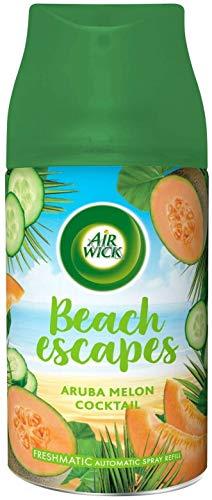 6er Air Wick Freshmatic Max Nachfüller Traumziele Asiatische Bambusoase/Aruba Melon Cocktail (6x250ml)