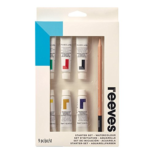 Reeves Water-Colour Paint, Starter Set - 9-Piece