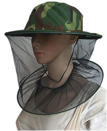 PPX Imker Maske Gap Hat, 2 Pack Camouflage Bienenzucht Maske Gap Hat perfekt für den Anfänger Imker Outdoor Wandern Camping, Klettern, Angeln, Radfahren