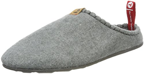 Viking Dnt Toffel, Pantofole Unisex-Adulto Grigio (Lightgrey 89) 39 EU