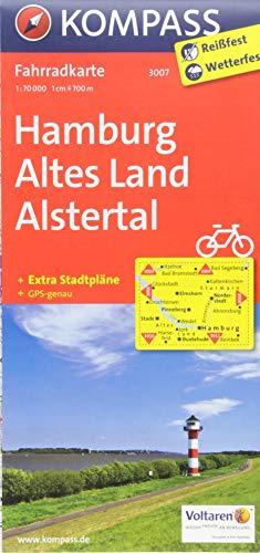KOMPASS Fahrradkarte Hamburg, Altes Land, Alstertal: Fahrradkarte. GPS-genau. 1:70000 (KOMPASS-Fahrradkarten Deutschland, Band 3007)