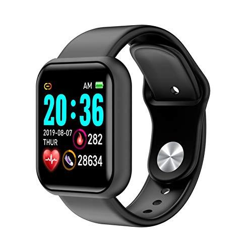 YDL Moda Smart Pulsera Reloj Monitor De Ritmo Cardíaco Fitness Impermeable Deporte Pulsera Pedómetro Mujeres Hombres Reloj Black