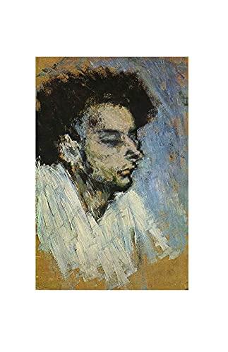 El suicidio de Pablo Picasso Cuadro Decoración Pared Cuadros Famoso Para Dormitorios Modernos Lienzo Cuadros Decorativos Decoracion de Salones (80x125cm31x49inch, sin marco)