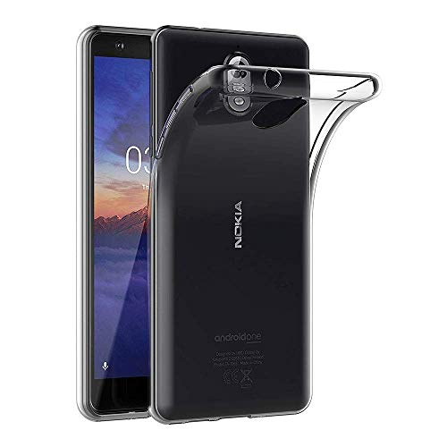 MaiJin Funda para Nokia 3.1 (5,2 Pulgadas) Resistente a arañazos TPU Cubierta de Delgada Capa de…