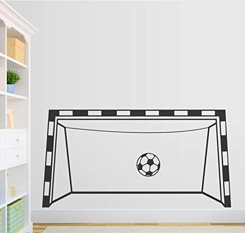 91x48cm, Streichaufkleber, Kreatives Fußballtor Spieltor Farbe Verfügbar Zimmer Dekorativ Dekorativ Wohnen Abstrakt Modern Malerei Badezimmer Paste Kinderaufkleber