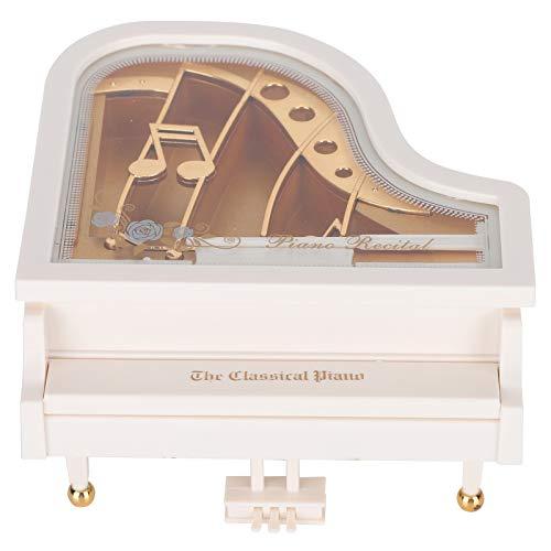 Alinory Klavier Spieluhr, Spieluhr, kompakte Form Jahrestage für Kinder Geschenke Home Decoration Valentinstag