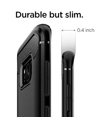 Spigen Rugged Armor Designed for Samsung Galaxy S8 Case (2017) - Black
