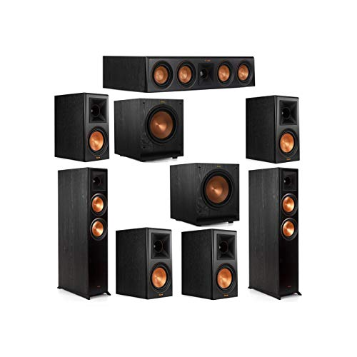 Best Review Of Klipsch 7.2 System with 2 RP-6000F Floorstanding Speakers, 1 Klipsch RP-404C Center S...