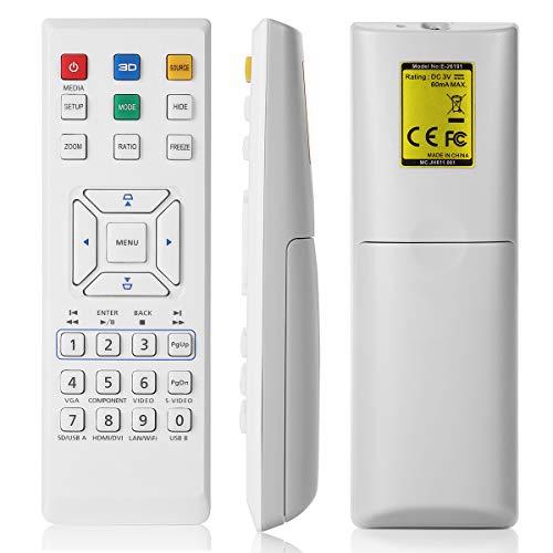 AuKing Mando a Distancia para Proyector para Acer H5380BD H5381BD H6517BD H6518BD...