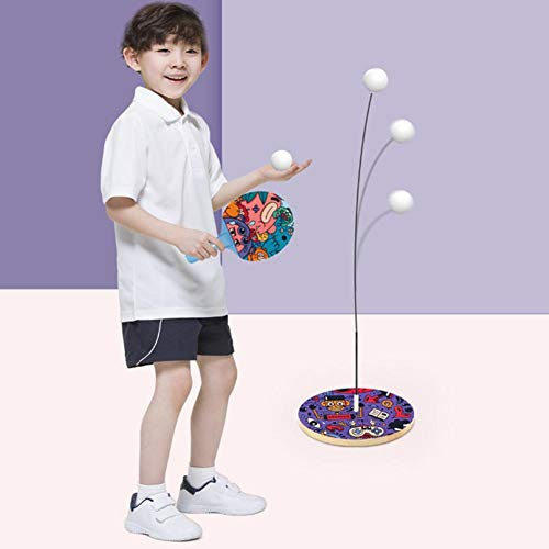 Read About Yunhigh Table Tennis Trainer Indoor Kids Toy Elastic Soft Axis Ping Pong Ball Training He...