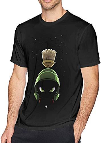 Kilson Mens Marvin The Martian Tshirts Black