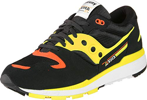 Saucony Azura Scarpa Black/Yellow/Orange