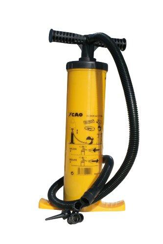 Cao Campingpomp met afvoerventiel, 2 l x 2