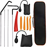 Aionep 12pcs Professional car Tool kit, Suitable for All Kinds of Cars, Easy-to-Access Long-Distance Grabber, air Wedge, wear-Free Wedge and Tool Bag