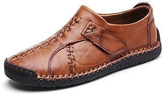 Sooger 3色メンズ カジュアルシューズ デッキシューズ ローカット ワークブーツ オックスフォードの靴 カジュアルシューズ ファッションスニーカー レースアップシューズ レジャーシューズ カジュアル靴 大番号靴 24.0cm-28.0cm