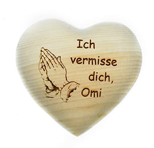 gravurenalarm -  Grabschmuck - Herz