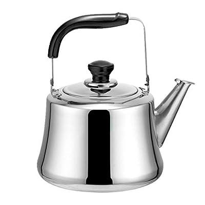 Allemagne en acier inoxydable 304épaissir sifflante bouilloire à thé pour cuisinière à gaz Induction Théière