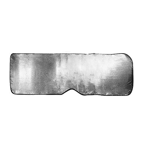Protección UV para 220x70cm CUBIERTA DE VENTANA DELANTERA AUTOMÁTICO AUTOMÁTICO Película de aluminio plateado de placa plateada de placa de doble cara Parasol Perspectiva para camiones para camiones P